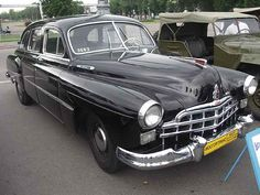 Looks like a 1949 Lincoln - Caddy  cross.
