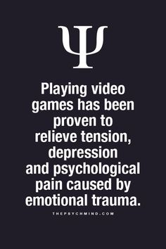 """thepsychmind: """"Fun Psychology facts here! """" Playing video games thepsychmind: """"Fun Psychology facts here! Psychology Says, Psychology Fun Facts, Psychology Quotes, Quotes Thoughts, Fact Quotes, True Quotes About Life, Life Quotes, Truth Quotes, Qoutes"""