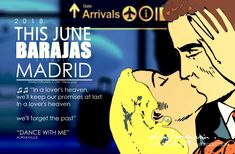 Happy End : BARAJAS Airport Madrid