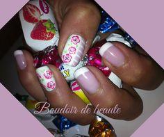 Candie nails! #nailart #nails #nailswag #nailsalon #kalamaria #skg #thessaloniki #beautysalon #beauty #naildesign #nailpolish #boudoirdebeaute #boudoir_de_beaute #manicure #nails_greece #candie #nailsoftheday #nailporn #nailaddict