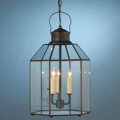 Clear Glass Conservatory Lantern from Shades of Light.com.