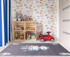 "Covor din PP ""Robotic"" Granite, Wilton Granite, Robot, Kids Rugs, Interior Design, Children, Modern, Home Decor, Nest Design, Young Children"