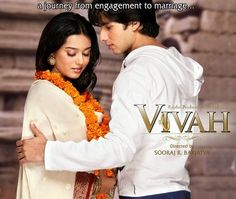 """""""Bollywood"""" (hindi musical romantic-comedy) is a favorite genre of mine, especially when I have 3 hrs for some 'me' time. And """"VIVAH"""" is my favorite bollywood film of all!"""