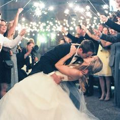 Perfect way to end the night Summer Nights, Happily Ever After, Wedding Pictures, Weddings, Wedding Dresses, Green, Fashion, Bride Dresses, Moda