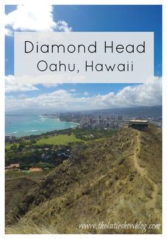 A must do while in Hawaii - a visit to Diamond Head. Full of history and stunning views!