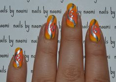 I love this mirrored ombre affect!!! To see the full instructional video tutorial on my YouTube channel, click here. And to see the great-for-sharing speedtorial, click here! After cleaning, filing, and shaping the nail and applying a base coat: 1....