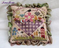 Shepherd's Bush. Shepherd's Fold. Goodness and Grace Pin Cushion.