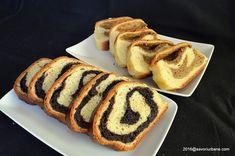 Coarda cu nuca sau mac - reteta de cozonac ardelenesc | Savori Urbane Cacao Beans, Romanian Food, Deserts, Bread, Cake, Recipes, Honey, Sugar, Brot