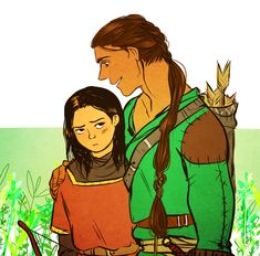 Beleg and Turin by jubah on deviantART