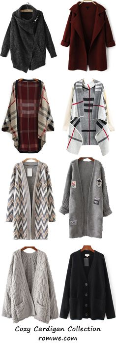 Chic Cardigan Collection - romwe.com
