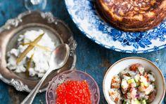 Suolakurkku-kaviaari Anna, Ethnic Recipes, Food, Meal, Essen, Hoods, Meals, Eten