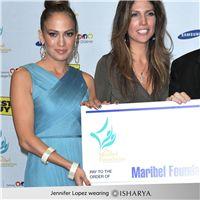 J.Lo Wearing Isharya Lily bangles
