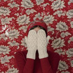 [エンベロープオンラインショップ] ミトン・トリコ・ケーブル Lisette 冬の小物