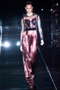 A TAD HIGH WAISTED?? Gucci Fall 2013 RTW Collection - Fashion on TheCut