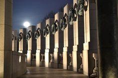 Dawn at the World War II Memorial