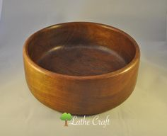 Vintage Second Chance Bowl in Teak