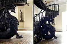Dragão! - Escadaria - Centro Cultural José Bonifácio - Gamboa - Rio de Janeiro - Brasil - Brazil