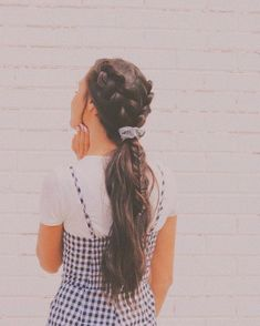 ☆ – New Site – Tutorial Per Capelli Messy Hairstyles, Pretty Hairstyles, Amazing Hairstyles, Wedding Hairstyles, Bangs Hairstyle, Hairstyle Ideas, Hair Day, My Hair, Hair Inspo