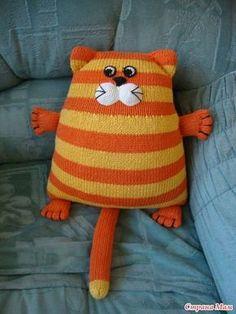 Вот такие веселенькие котейки нашла на просторах интернета: Описание здесь: http://www.liveinternet.ru/ И вот такое вот исполнение автор этого красавчика нашелся здесь: http://vk.com/