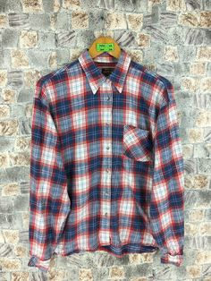 Excited to share the latest addition to my #etsy shop: Pepe Jeans Plaid Checkered Tartan Flannel Women Shirt Unisex Vintage Button Up Distressed Flannel Size M #womenflannelshirt #rusticflannel #90sgrungeflannel #oxfordsflannel #menflannelshirt #boyfriendshirt #hipsterflannel #flannelredtartan #flanneloversized