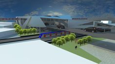 Ateliê de Projeto VII - Estação Intermodal Triagem - Maria Carolina Valim