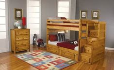 Shopping for the Amber Wash Full Stairway Bunk Bed With Drawers for youth bedroom. Find Kids tough wood bunk bed in full with steps under bed storage drawers. Bunk Beds With Drawers, Bunk Beds With Storage, Wood Bunk Beds, Modern Bunk Beds, Bunk Beds With Stairs, Bed Storage, Storage Drawers, Storage Stairs, Bed Stairs