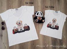 Camiseta Cachorro Tal Mãe Tal Filha