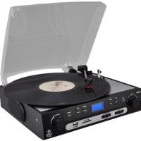 Pyle-Home PLTTB9U USB Turntable with direct-to-digital USB/SD Card Encoder and Built-in AM/FM Radio Conversion   33.33, 45, 78 rpm - Secure Digital (SD) Card, MultiMediaCard (MMC) Read  more http://themarketplacespot.com/dj-equipment/pyle-home-plttb9u-usb-turntable-with-direct-to-digital-usb-sd-card-encoder-and-built-in-am-fm-radio-conversion-2/  Visit http://themarketplacespot.com to read more on this topic
