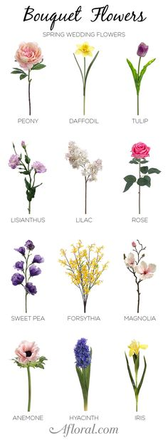 Spring brides can find all of their favorite wedding flowers at Afloral.com. From lilacs to peonies, we have high-quality artificial flowers for your DIY bridal bouquet.
