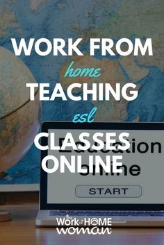 Do you enjoy teaching and interacting with other cultures? Would you like to work-at-home? If so you could work from home teaching ESL classes. Find out now how to get started and where to apply for these remote jobs! #ESL #teaching #workfromhome