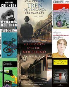 Libros cuya acción sucede en un tren. Super interesantes las historias. Labores y demás: Todo ocurrió en un tren