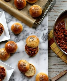 Bring On Burger Season: Our 10 Favorite Recipes | Turkey Sloppy Joes with buttery buns