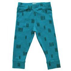 New! Duck green printed legging- lötiekids