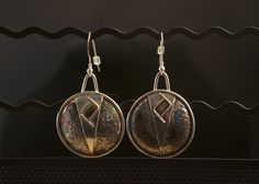 One-of-a-kind handcrafted silver jewellery by Ron Smith. Twin Peaks, Handcrafted Jewelry, Pocket Watch, Silver Jewelry, Jewelry Making, Drop Earrings, Unique, Accessories, Handmade Chain Jewelry
