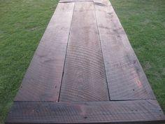 8ft. Rustic Farm Table