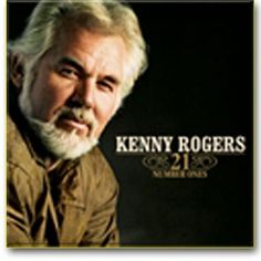 As the title says, this cd contains 21 of Kenny Rogers's greatest hits. Included are 'The Gambler,' 'Islands in the Stream,' and 'Don't Fall in Love with a Dreamer.' [Kenny Rogers // 21 Number Ones] Country Music Artists, Country Music Stars, Country Singers, Good Music, My Music, Gospel Music, Coward Of The County, Islands In The Stream, Dont Fall In Love