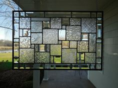 Stained Glass Window Panel Clear Textures and by TheGlassShire Glass Window, Stained Glass Window Panel, Green Windows, Glass Blocks Wall, Glass Panels, Glass, Paneling, Window Panels, Stained Glass Panel