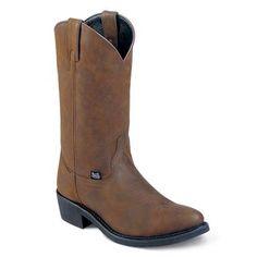 Justin Men's Ranch & Road Western Boots $104.99 CALEB