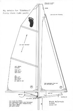 Sailboat blueprints
