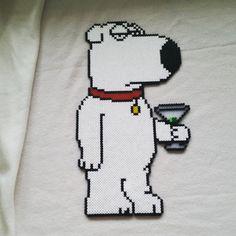 Family Guy hama beads by Abbie Huggett
