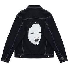 Chicnova Fashion Denim Girlfriend Jacket in Black