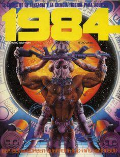 Libro Cómic 1984, Extra 1. Núm. 13- 14- 15- 16