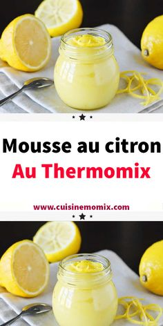 Crock Pot 90291 Discover the recipe for Lemon Mousse, simple and easy to prepare at home with the thermomix. Lemon Recipes, Easy Cake Recipes, Easy Desserts, Dessert Recipes, Creme Dessert Thermomix, Thermomix Desserts, Mousse Dessert, Dessert Recipe Without Butter, Best Recipe App