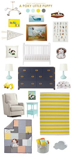 The latest addition to the Little Golden Books for Nod bedding collection is absolutely adorable and perfect for styling a boy nursery.  TM and © 2016...Read More