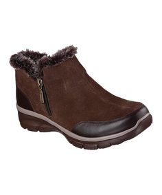 Women's Relaxed Fit Suede Easy Going Zip It Boot