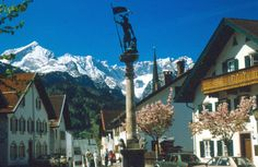 Garmish-Partenkirchen  Bavaria, Germany, Been here....Snow Skied here...Germans are much more forceful/fierce skiers!