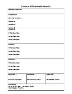 essay template outline