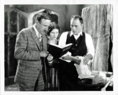 Clowning on the set of London After Midnight (1927) Lon with Director Tod Browning and co-star Marceline Day. See more at: https://www.facebook.com/LonChaneySrManOf1000Faces