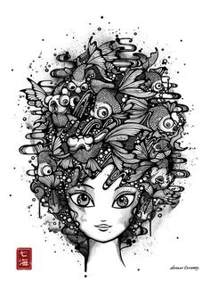 nanami cowdroy - she is my doodle inspiration