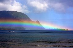 hawaii sunsets &rainbows | Posted by lindley at 7/31/2010
